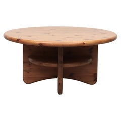 Rainer Daumiller Style Pine Coffee Table