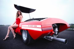 'Red Hot Abarth 2000'   Rainer W. Schlegelmilch Archive Limited Edition