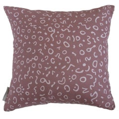 Raja Pillow in Color Finn 'Lavender on Heather Purple