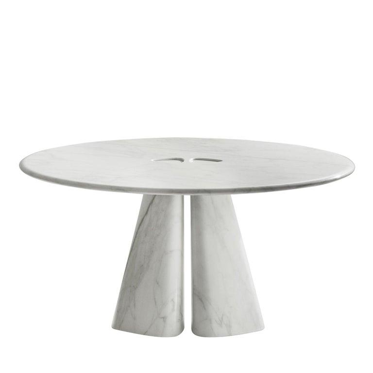 Italian Raja Round Table by Bartoli Design For Sale