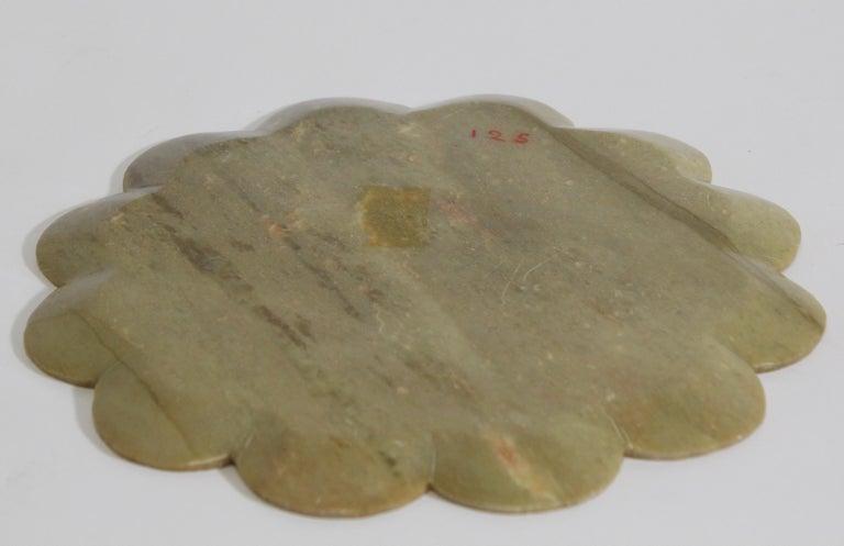20th Century Rajasthani Stone Marble Inlay Taj Mahal Pietra Dura Decorative Plate For Sale