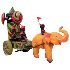 'Rajputana' Tin & Celluloid Wind Up Japanese Toy