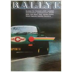 """Rallye"", Original Czechoslovakian Film Poster"