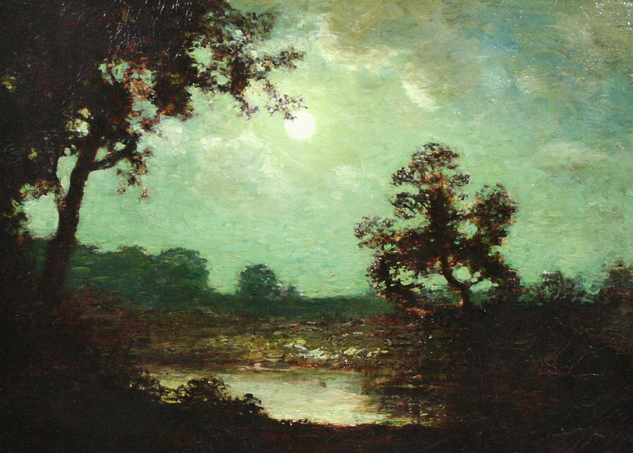 Landscape at Moonlight