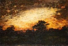 Landscape Silhouette at Twilight