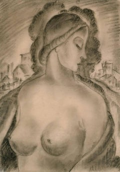 Untitled (Nude in Profile)