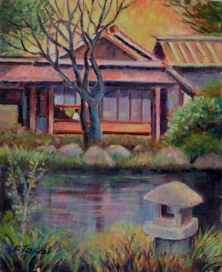 Ralph Edward Joosten Landscape Painting - The Tea House