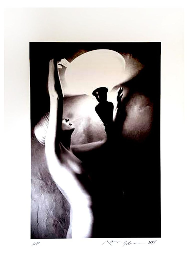 Ralph Gibson - Nude Woman Portrait - Signed Photograph - Black Nude  Photograph by Ralph Gibson