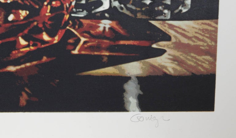 Still Life with Sugars, Photorealist Serigraph by Ralph Goings For Sale 1