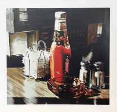 Still Life with Sugars, Photorealist Serigraph by Ralph Goings