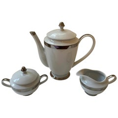 Ralph Lauren Academy Platinum Coffee Set, 3 Pieces