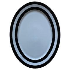 Ralph Lauren Academy Platinum Serving Platter