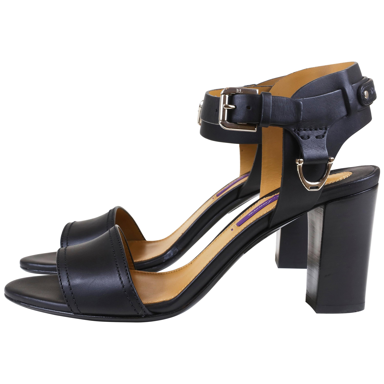 Ralph Lauren Block Heel Sandals