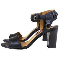 Ralph Lauren Block Heel Sandals
