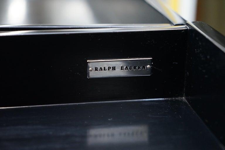 Ralph Lauren Brook Street Desk And Clivedon Black Velvet