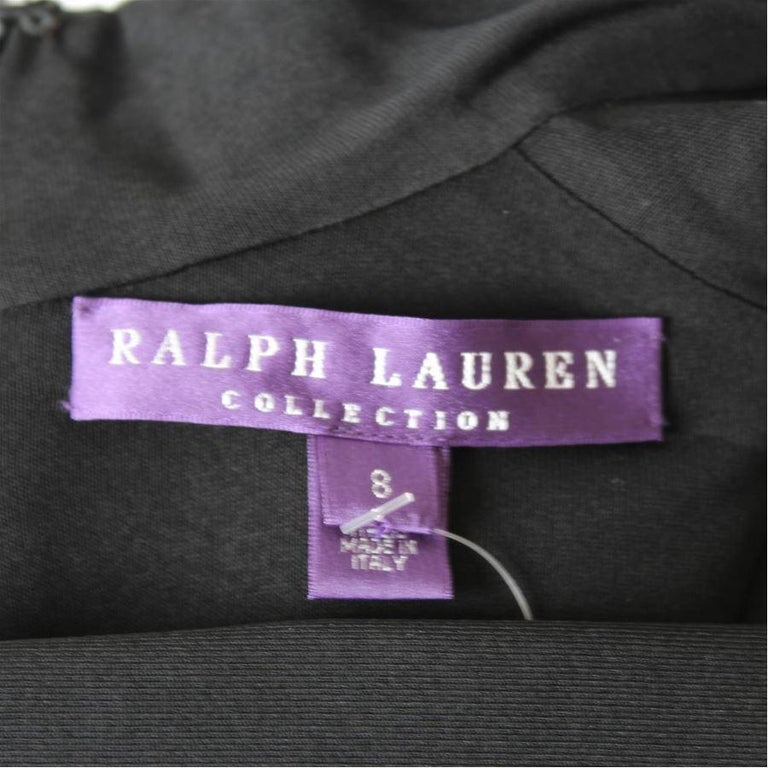 Ralph Lauren Collection Evening Dress US8 In Excellent Condition For Sale In Gazzaniga (BG), IT