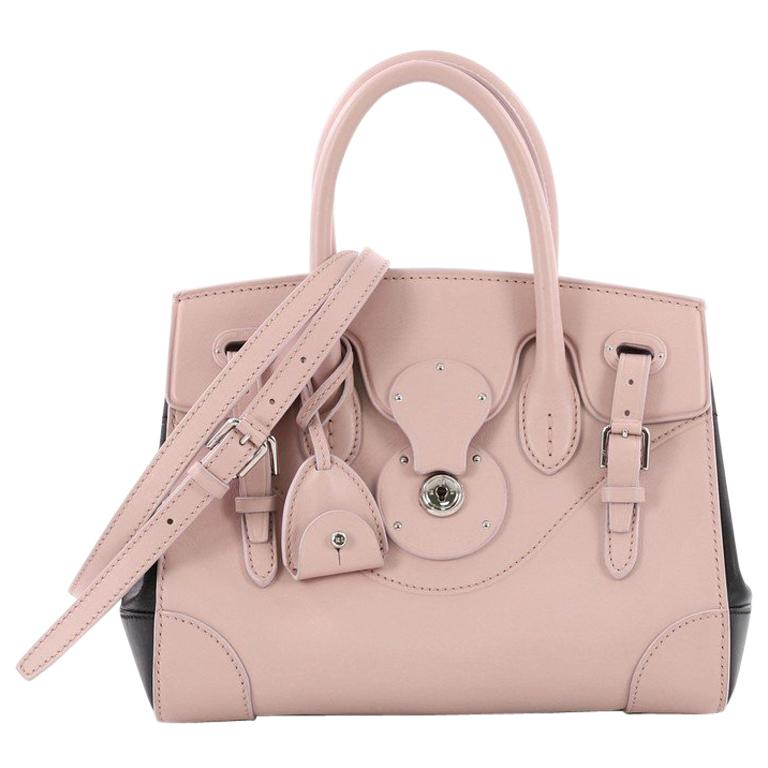 52cc57c08c Ralph Lauren Collection Soft Ricky Handbag Leather 27 For Sale at 1stdibs