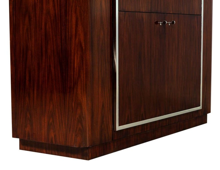 Ralph Lauren Duke Bar Cabinet In Excellent Condition For Sale In North York, ON