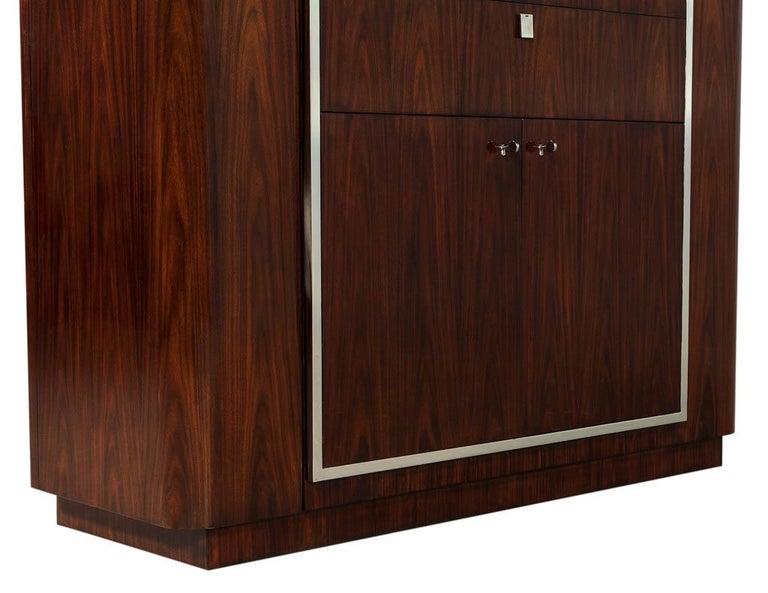 Contemporary Ralph Lauren Duke Bar Cabinet For Sale