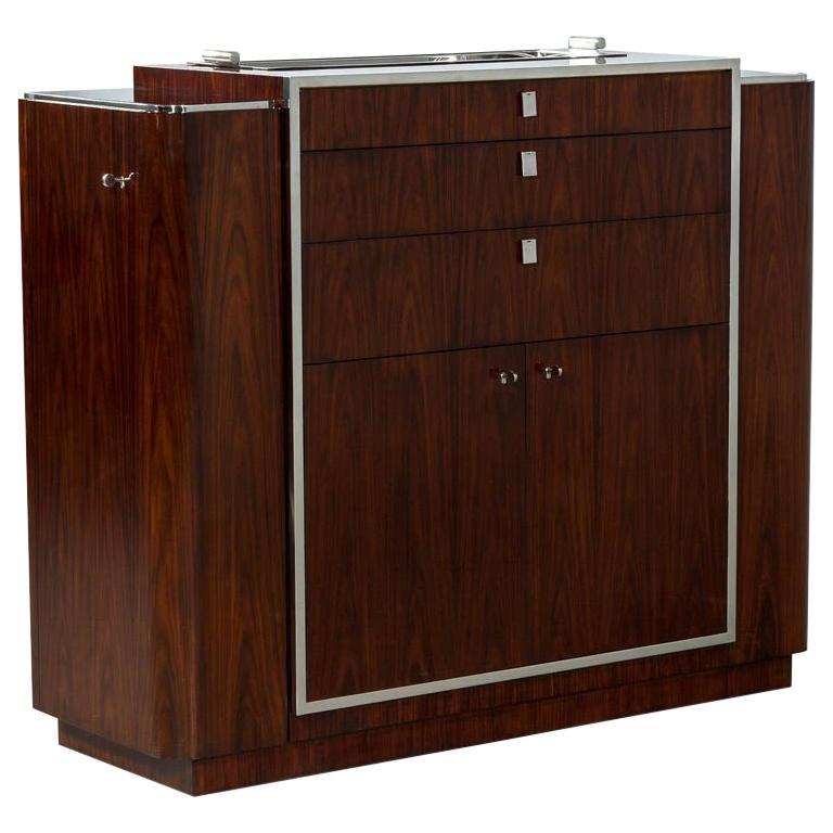 Ralph Lauren Duke Bar Cabinet For Sale