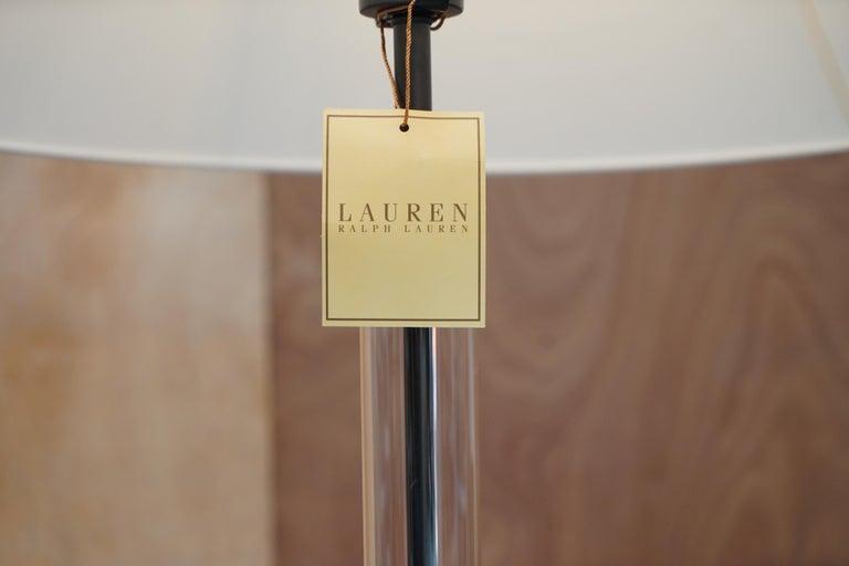 Art Deco Ralph Lauren Floor Standing Lamp Storm Lanturn Style Body For Sale