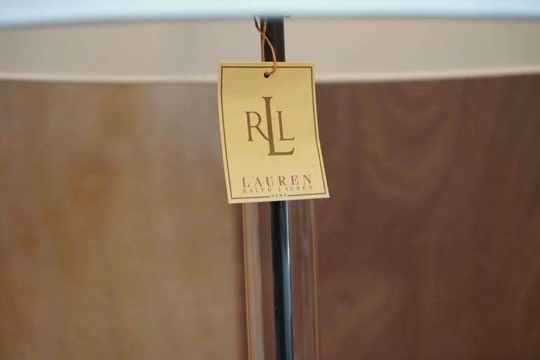 English Ralph Lauren Floor Standing Lamp Storm Lanturn Style Body For Sale
