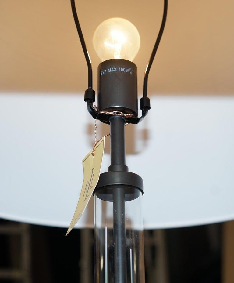Ralph Lauren Floor Standing Lamp Storm Lanturn Style Body In Excellent Condition For Sale In , Pulborough