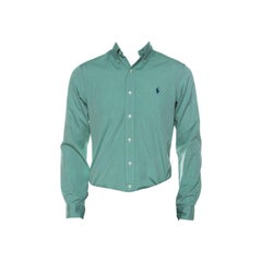 Ralph Lauren Green Cotton Buttoned Shirt S