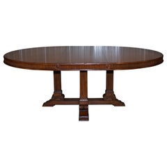 Ralph Lauren Hither Hills 6-10 Person Oval Extending Dining Table