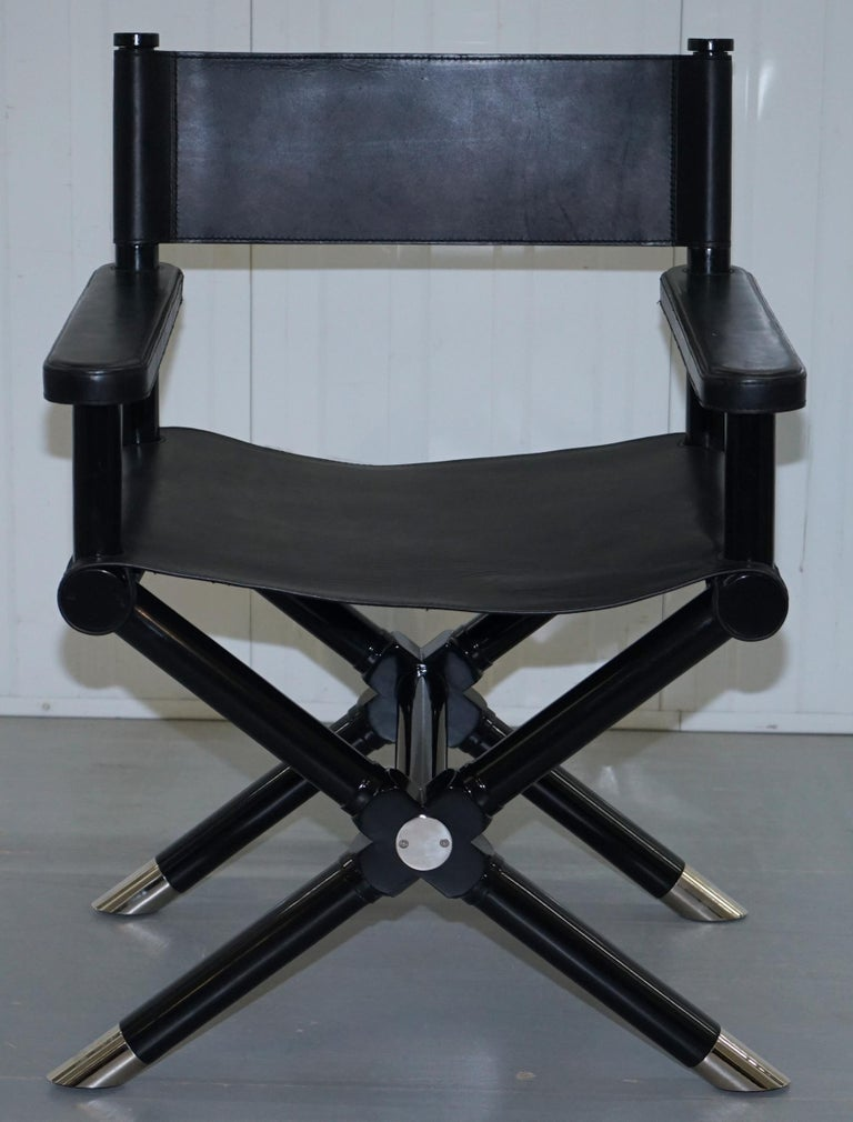 Pleasant Ralph Lauren Holbrook Directors Armchair Black Leather Office Desk Ibusinesslaw Wood Chair Design Ideas Ibusinesslaworg