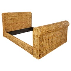 Ralph Lauren Home Polo Collection Woven Rattan Bed