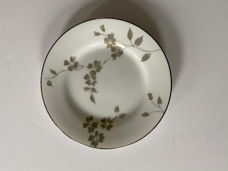 Porcelain Ralph Lauren Home Sophia Dinnerware, 4 Place Settings For Sale