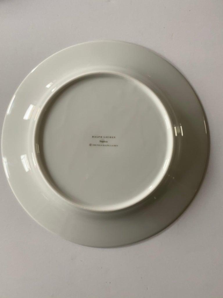 Ralph Lauren Home Sophia Dinnerware, 4 Place Settings For Sale 2