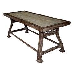 Ralph Lauren Industrial Work Table
