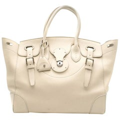 Ralph Lauren Ivory Soft Ricky Bag