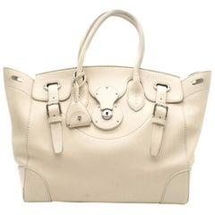 Ralph Lauren Ivory Soft Ricky Bag