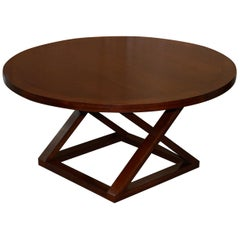 Ralph Lauren Jamaica Cherrywood Large Round Dining Table 4-8 People