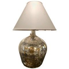 Ralph Lauren Large Mercury Glass Table Lamp