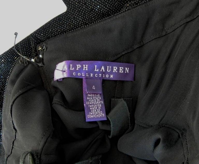 Ralph Lauren NWT Rare Runway Art Deco Beaded Dress Gown For Sale 5