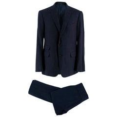 Ralph Lauren Purple Label Navy Blue Hand Tailored Suit XL