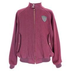 Ralph Lauren Purple Wool College Sport Jacket