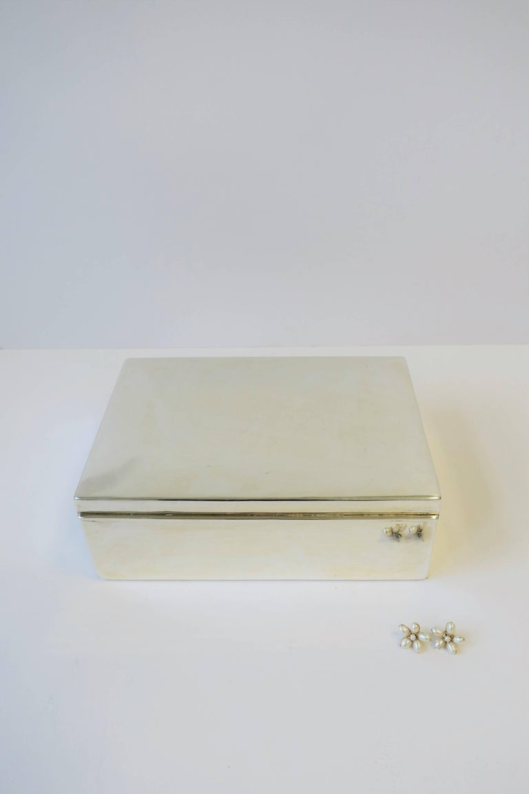 Ralph Lauren Silver Box In Good Condition For Sale In New York, NY