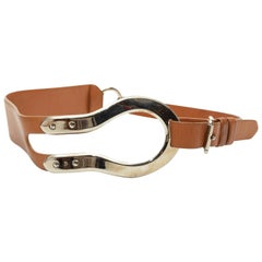 Ralph Lauren Tan Leather Belt
