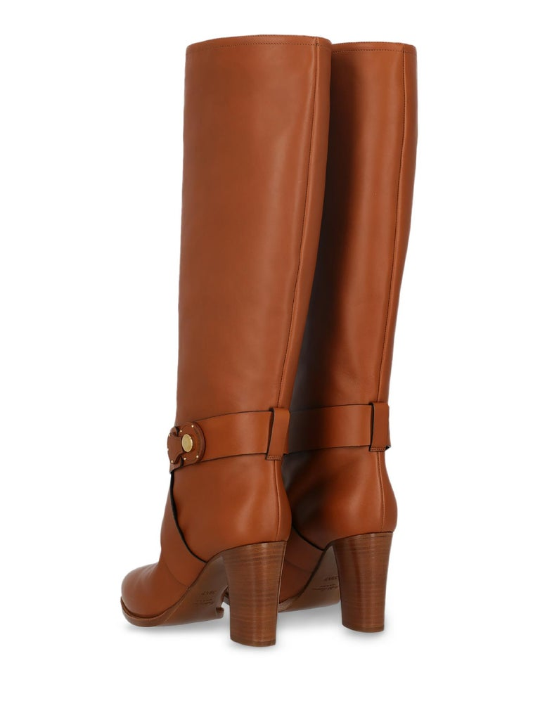 Ralph Lauren Woman Boots Brown EU 39.5 In Excellent Condition For Sale In Milan, IT