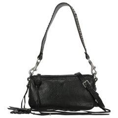 Ralph Lauren Woman Shoulder bag Black Leather