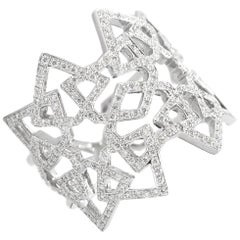 Ralph Masri Arabesque Deco Diamond Ring