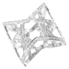 Ralph Masri Arabesque Deco Diamond Ring