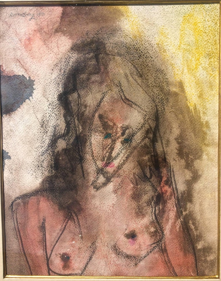 Young Woman  - Art by Ralph Rosenborg