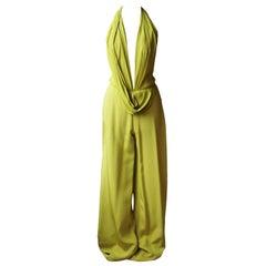 Ralph & Russo Draped Silk Jumpsuit