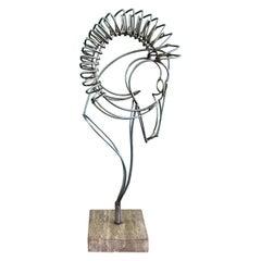 C. Jere Ram Sculpture